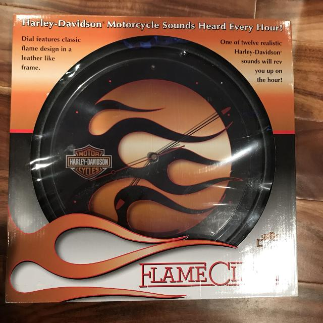 Harley Davidson Clock with Sound