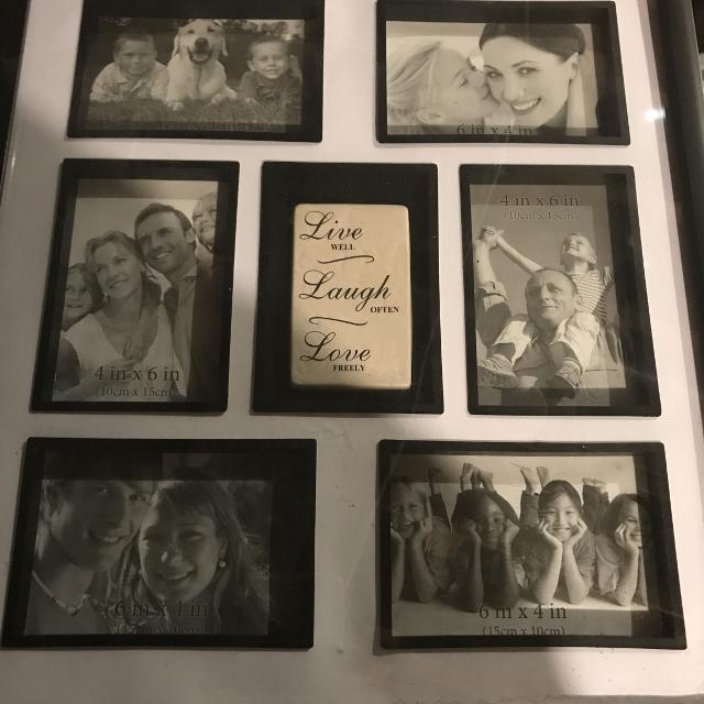 Find More New Picture Frame Holds 6 4x6 Photos Reduced For