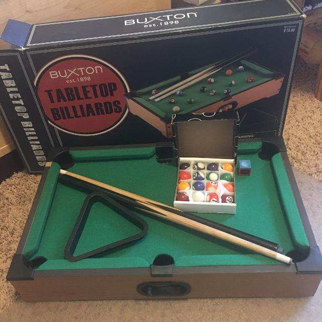 Find More Mini Pool Table Set For Sale At Up To Off - Mini billiards table set