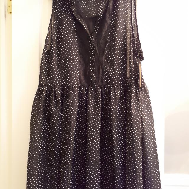 9f769f27c9f Best Dex Black And White Polka Dot Sleeveless Dress Size 2x for sale in  Clarington