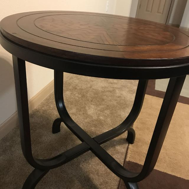 Small Round Decorative Table