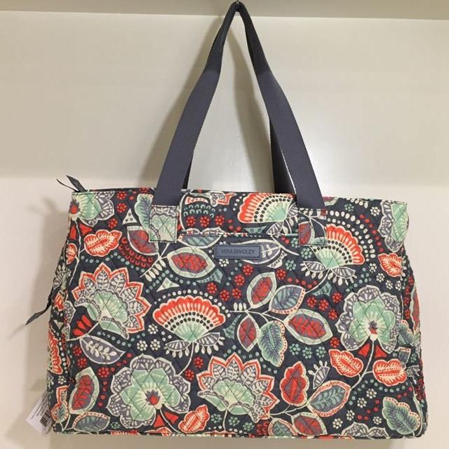 b9a335871f427a Find more New Vera Bradley Triple Compartment Travel Bag for sale at ...