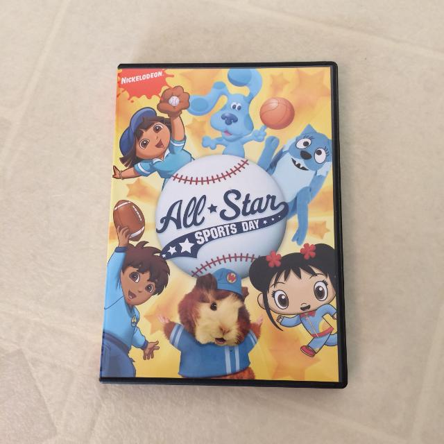 Nickelodeon All-Star DVD, includes Diego, Blues Clues, Dora, Wonder Pets