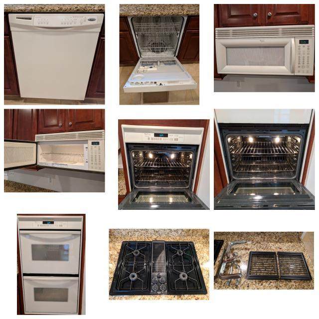 Whirlpool Kitchen Appliances Set