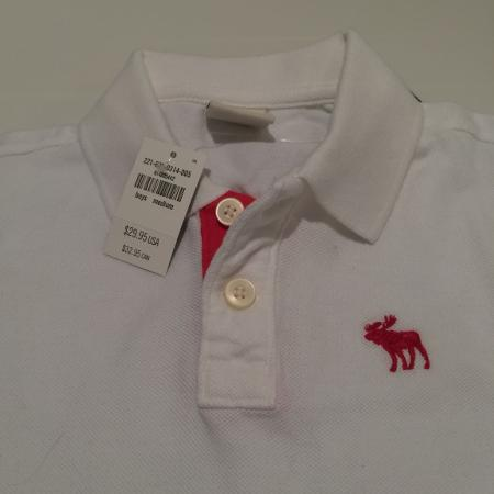 New boys Abercrombie polo size 12 for sale  Canada