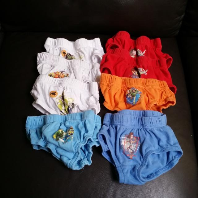 Find More Free Lot Of 8 Toy Story Underwear Sz 2t For Sale At Up