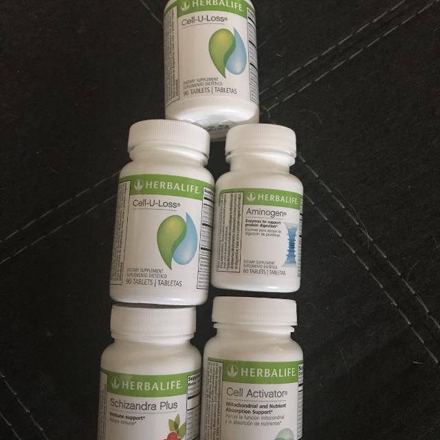 Used Herbalife Items Tea And Cell U Loss Not Pictured