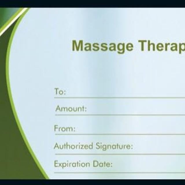 Best Massage Therapy Gift Certificate for sale in Sherwood Park, Alberta for 2019