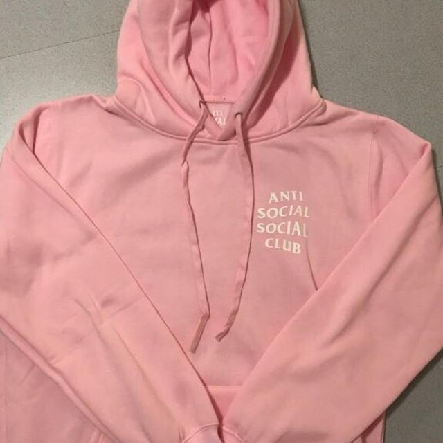 5565212ae3cc Best Anti Social Social Club Hoodie (pink) Assc for sale in Oshawa ...