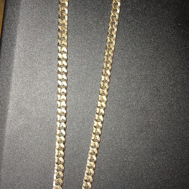 10k Gold Cuban Link Chain >> 10k Gold Cuban Link Chain