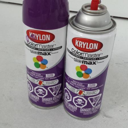 Used, Plum Spray paint for sale  Canada