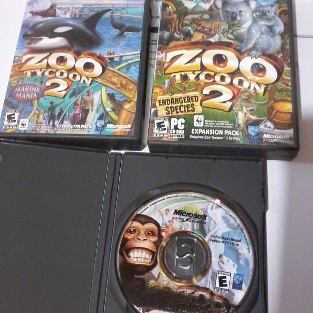 Zoo Tycoon 2 with expansions for PC