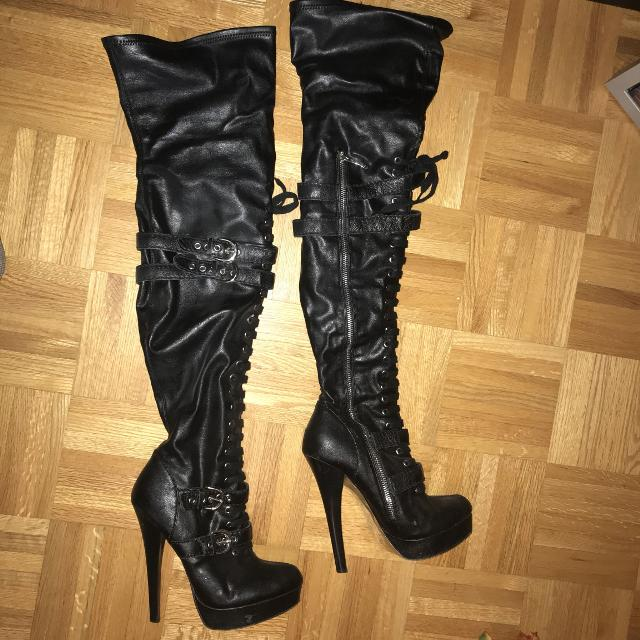1a6eb495cc6 Best Bebe Thigh High Biker Boots Heels - Final Price for sale in Markham