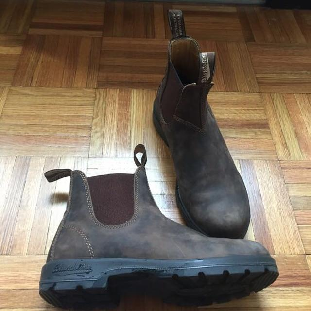 9dd46cb4cced Find more Blundstone 585 Leather Lined Rustic Brown for sale at up ...