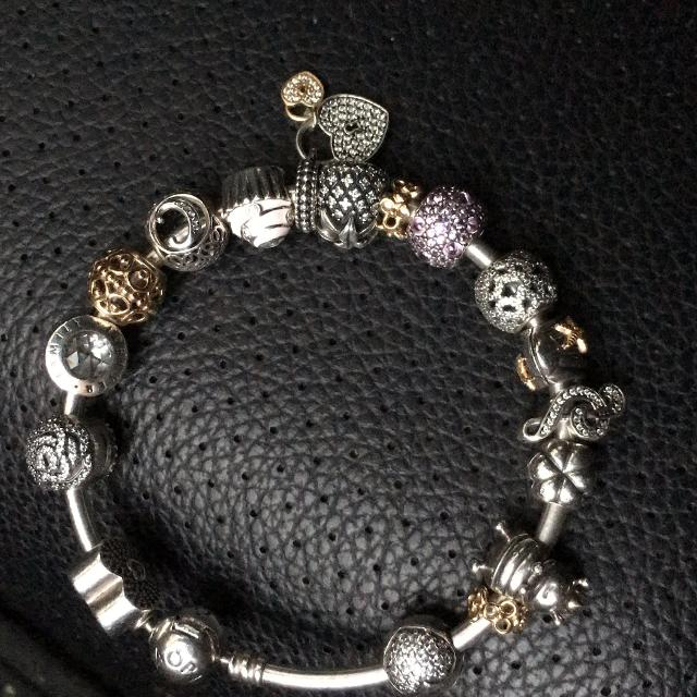 d0f9b736a Best Pandora Bracelet And 14 Kt Gold Charms for sale in Oshawa, Ontario for  2019