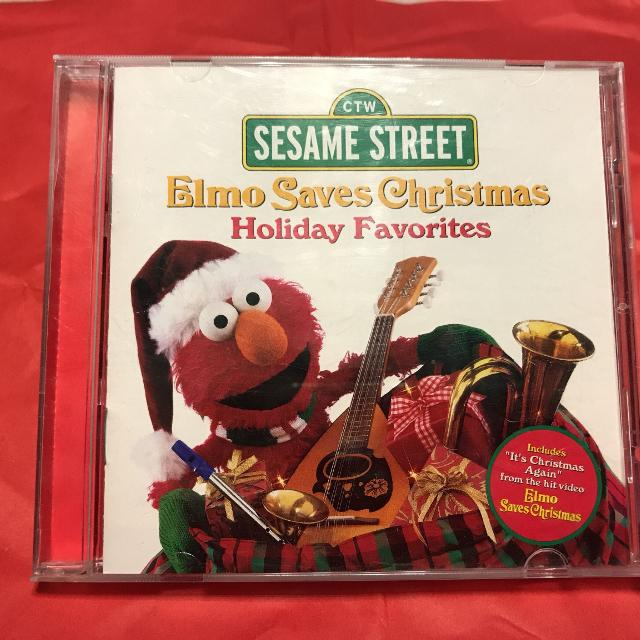 elmo saves christmas music cd see description for meet times - Sesame Street Elmo Saves Christmas