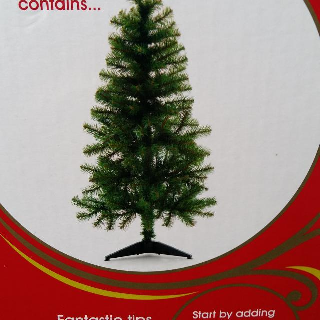 4ft Christmas tree from Sainsburys. Used once. - Find More 4ft Christmas Tree From Sainsburys. Used Once. For Sale At
