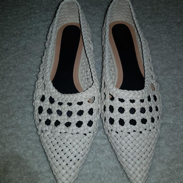 925c91d8a25f Best Zara Woven Pointy Flats for sale in Hagerstown