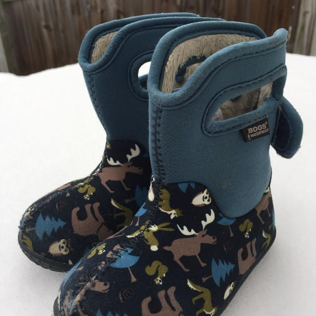 be2f3c76c0 Toddler Bogs Winter Waterproof Rain Snow Boots. Size 6. Porch Pick up  Available. Staples Mill at 295.
