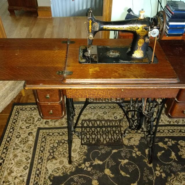 Best Singer Treadle Sewing Machine 40 For Sale Adorable 1915 Singer Sewing Machine