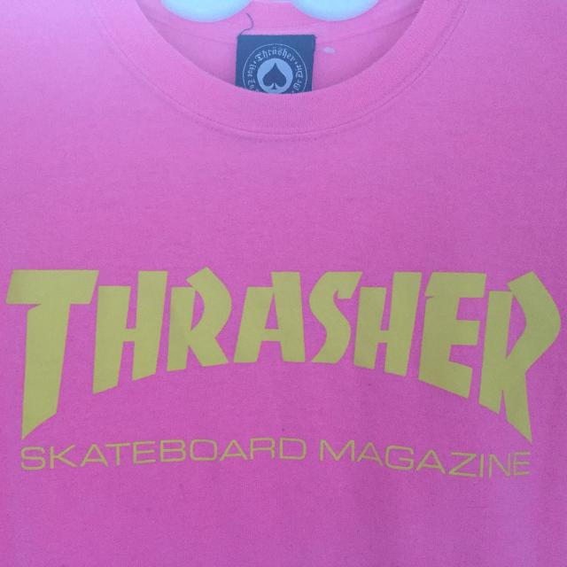 b335ef6f1ac6 Find more Thrasher Neon Pink And Yellow T Shirt for sale at up to 90 ...