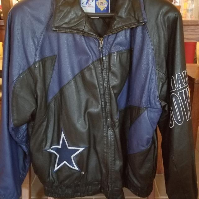 watch 702aa 43433 Dallas Cowboys Leather Coat