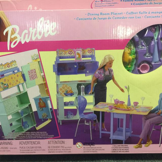 Barbie Dining Room Set Brand New In Box