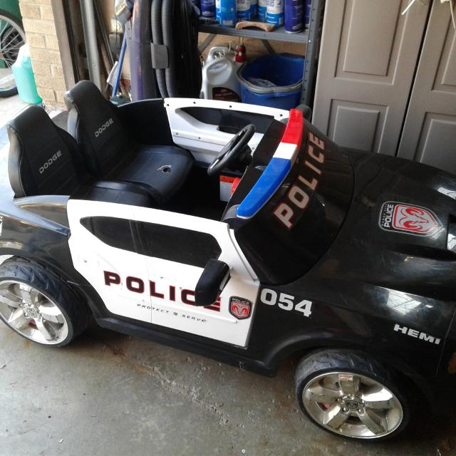 Find More Power Wheels Police Car For Sale At Up To 90% Off