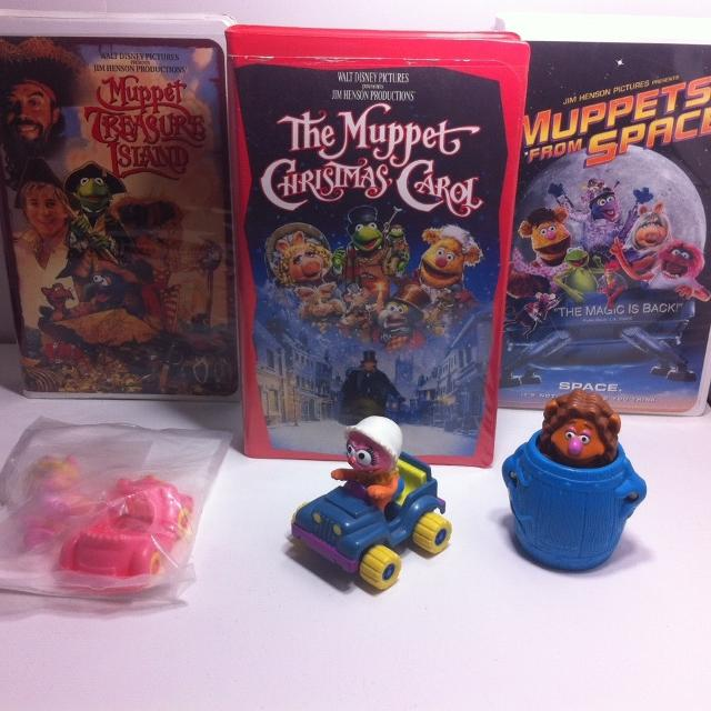 Best Muppets Movie Vhs And Toy Collection for sale in ...