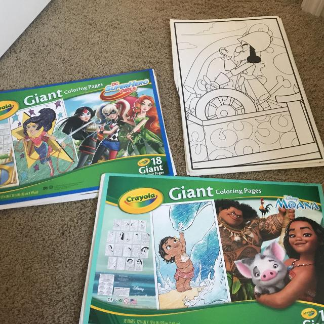 Crayola Giant Coloring Pages Jake