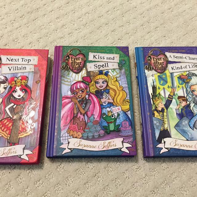 Three Ever After High Books