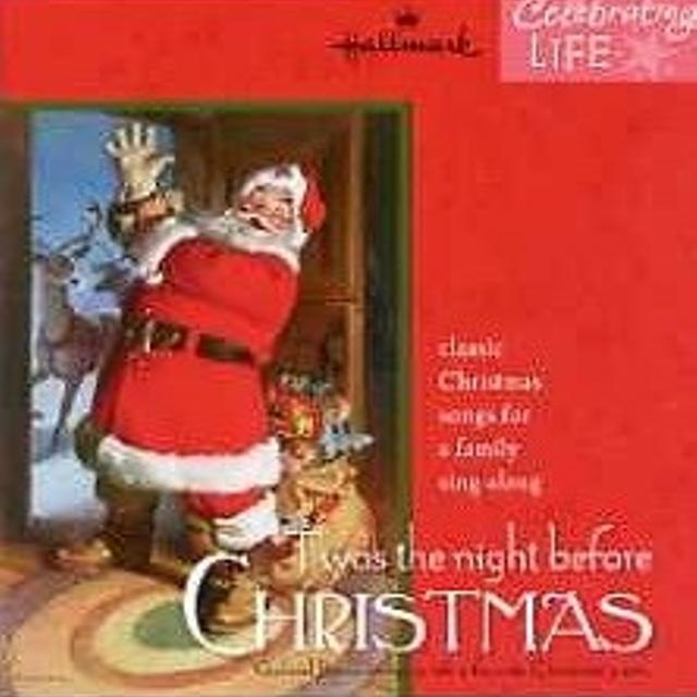 hallmark twas the night before christmas cd classic christmas songs for a family sing - Best Classic Christmas Songs