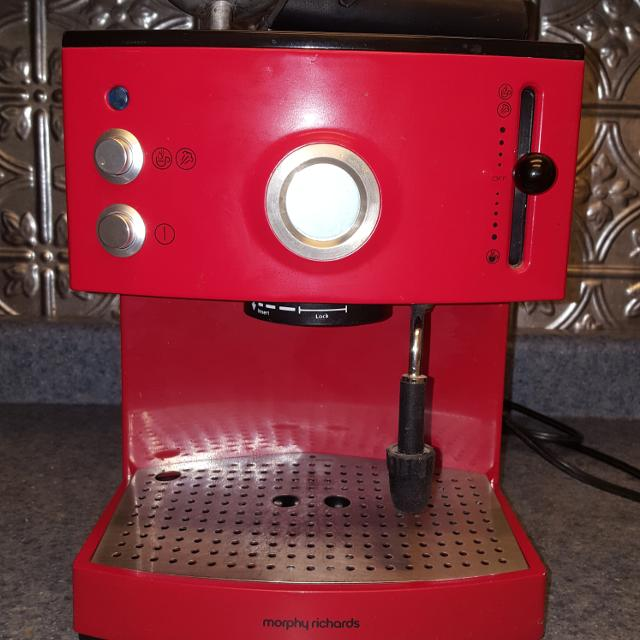 Find More Euc Morphy Richards Espresso Machine For Sale At Up To 90 Off