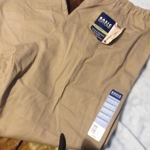 basic editions mens dress pants