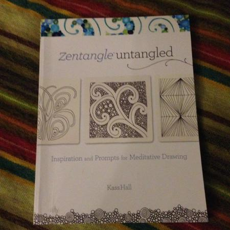 Zentangle untangled - drawing book for sale  Canada