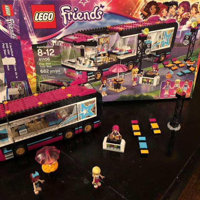Find More Lego Friends Pop Star Tour Bus For Sale At Up To 90 Off