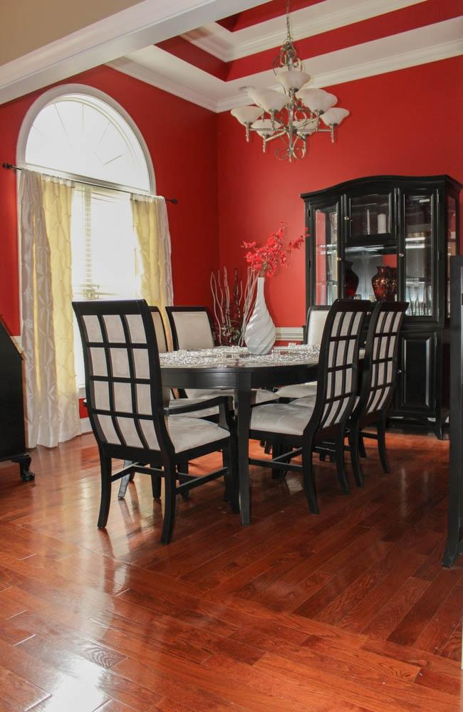 Black And White Formal Dining Room Set