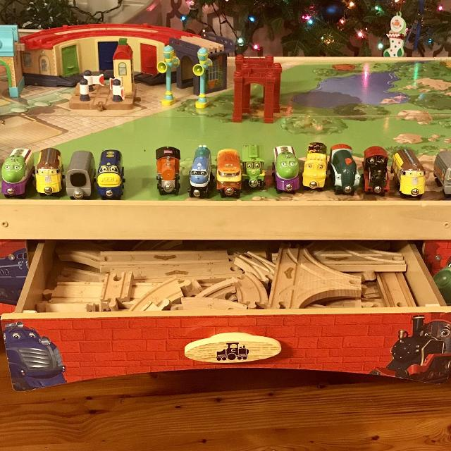 Find more Wooden Chuggington Train Table for sale at up to 90% off