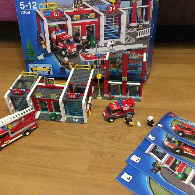 Find More Lego City Fire Station 7208 For Sale At Up To 90 Off