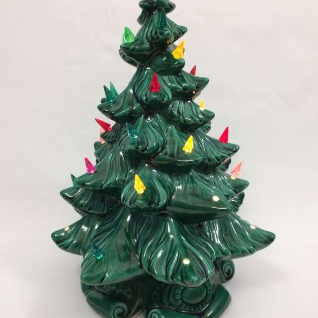 16 Ceramic Christmas Tree Atlantic Mold