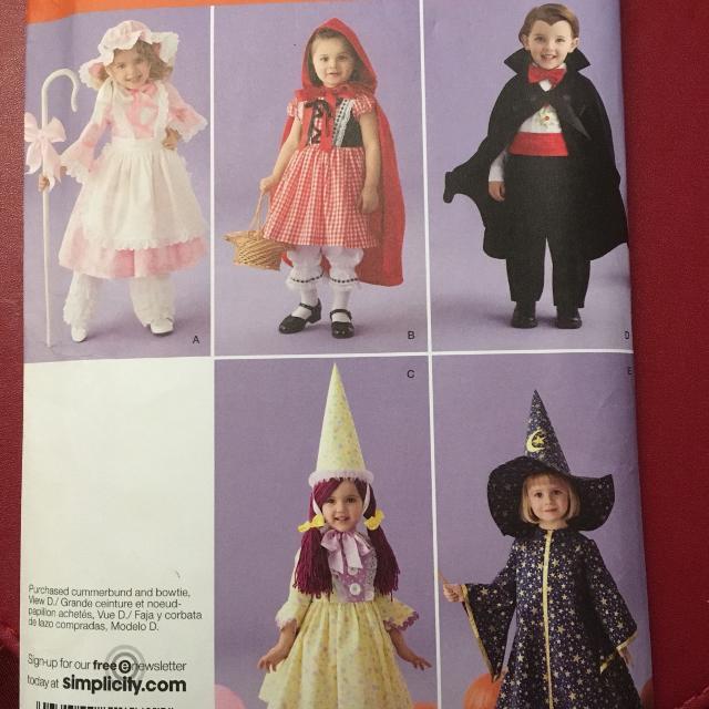 Best Simplicity Toddler's Halloween Costume Pattern Ref 60 Fascinating Toddler Halloween Costume Patterns