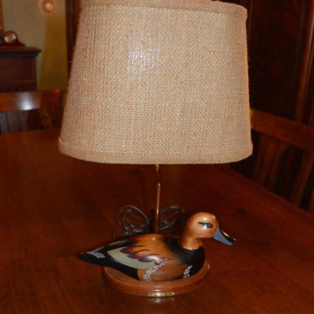 Find more Vintage Wooden Duck Lamp for sale at up to 90% off