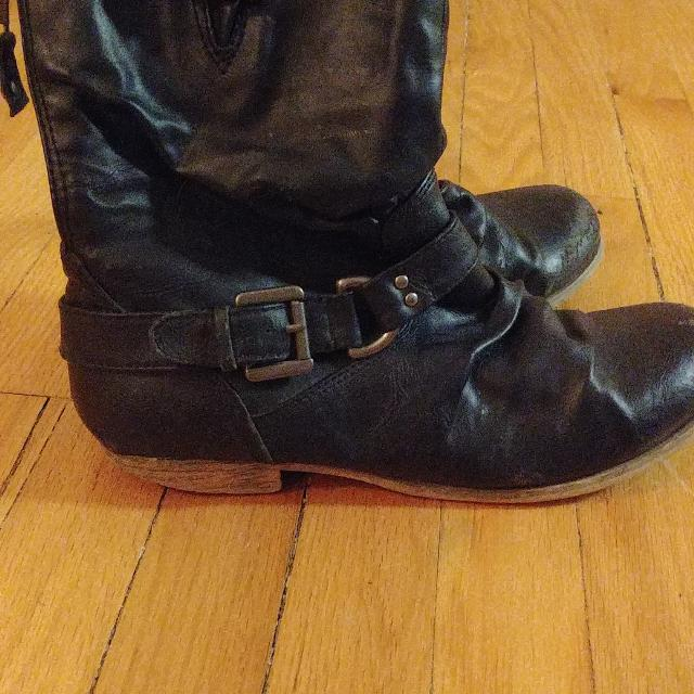 0a84973b3a Best Steve Madden Leather Moto Boots for sale in Winnipeg