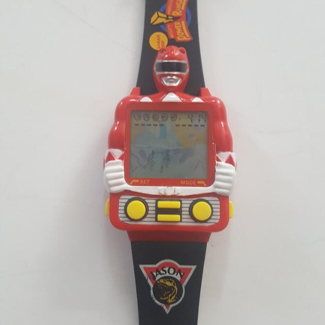 Best New 1994 Power Rangers Video Game Watch For Sale In Keswick