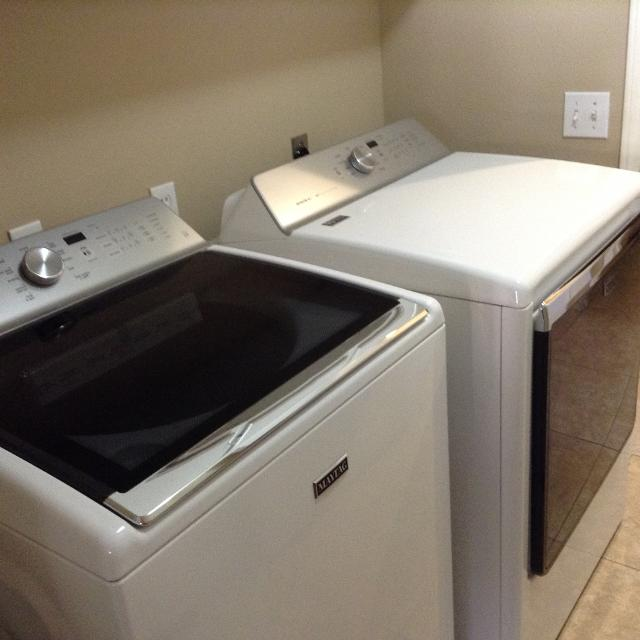 Maytag Bravos Xl Washer Dryer