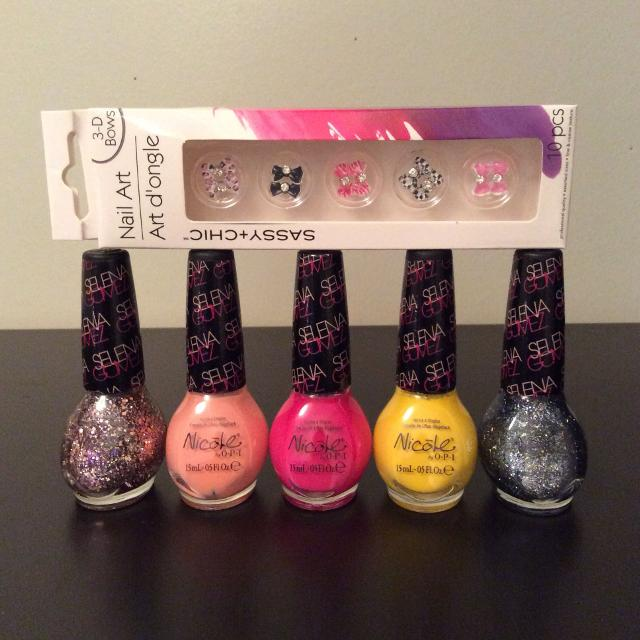 Find More 3d Nail Art Bows 5 Nicole By Opi Nail Polishes All