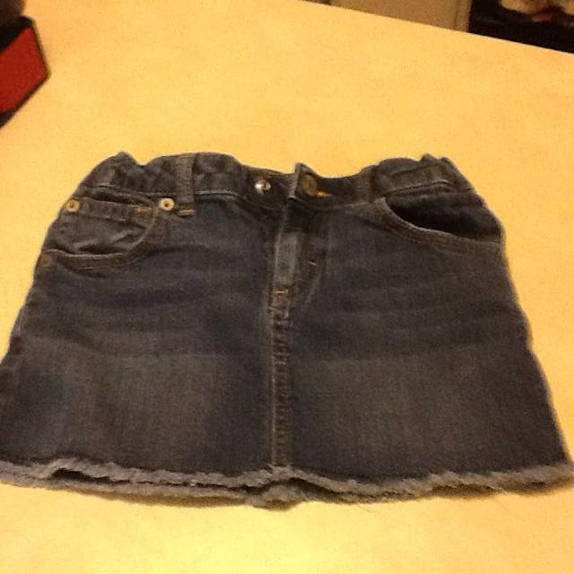 Blue Jean Skirt Size 7 8 Mossimo 3