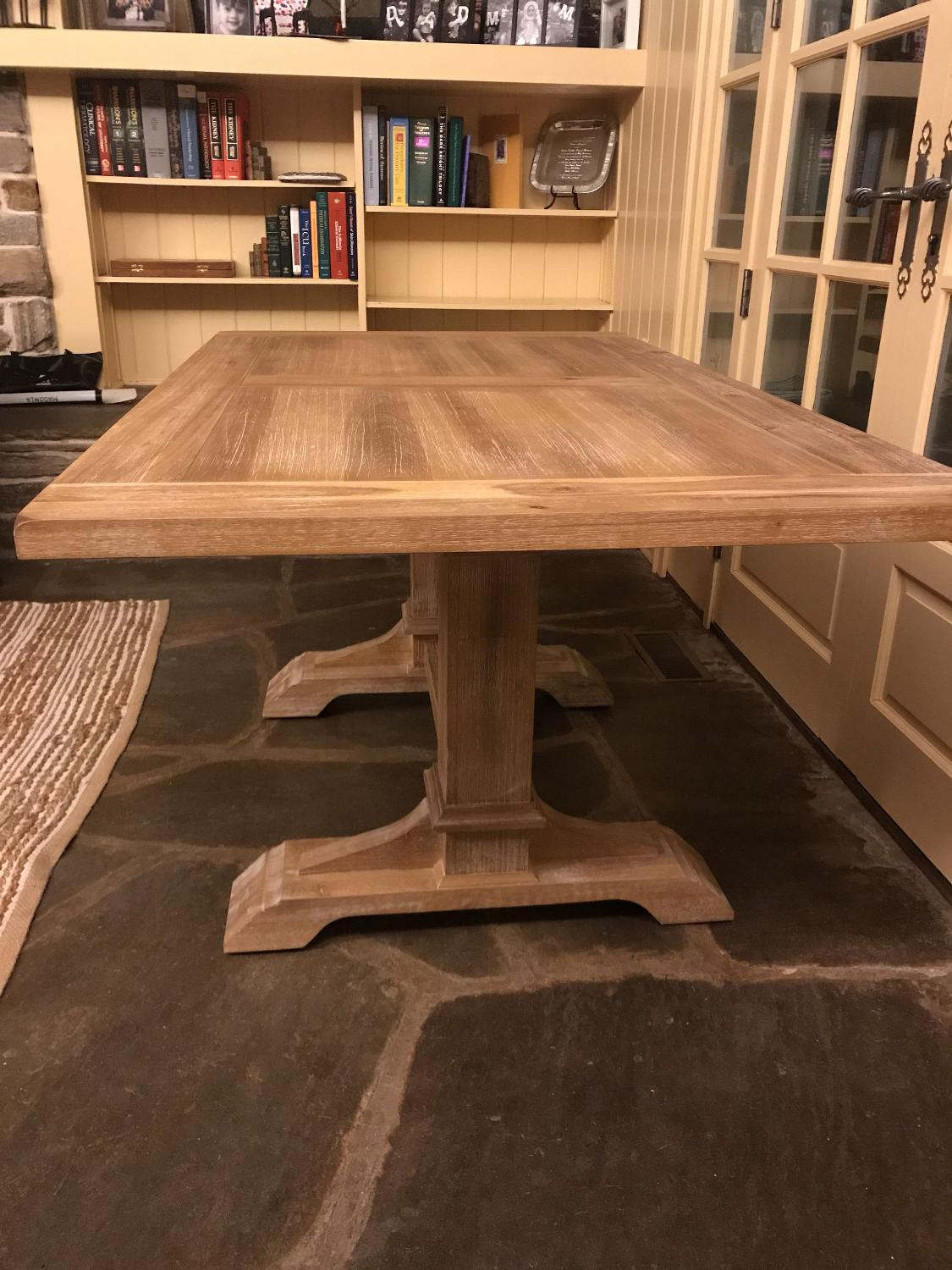 Pier 1 Dawson Stonewash Dining Table