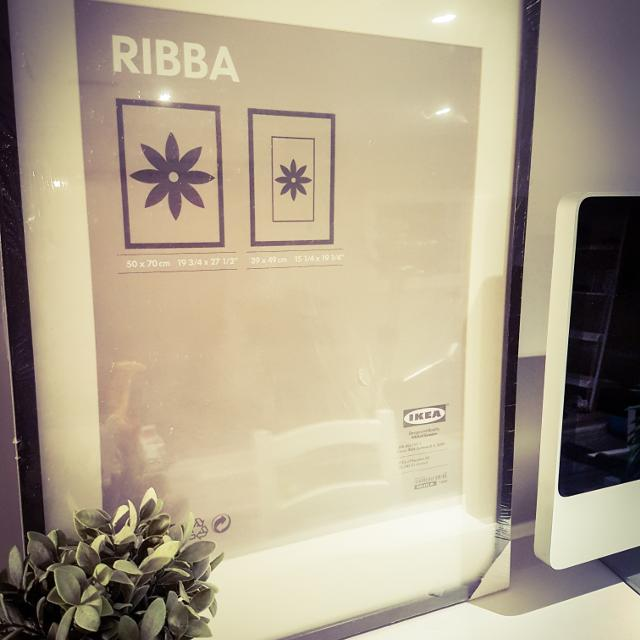 Find more Ikea Ribba 50cm X 70cm Picture Frame for sale at up to 90% off