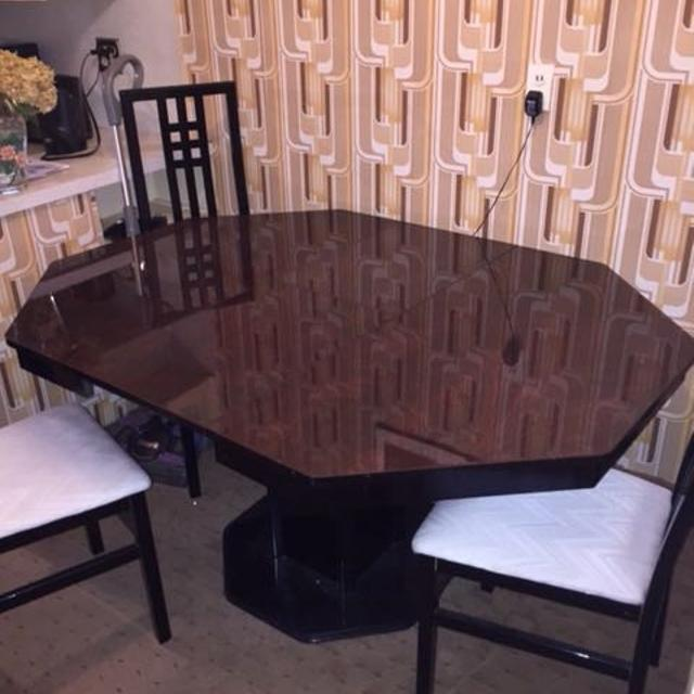 Find More Octagon Cherry Wood Table And 6 Chairs For Sale At Up To